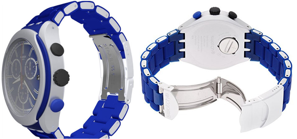 Swatch blue attack